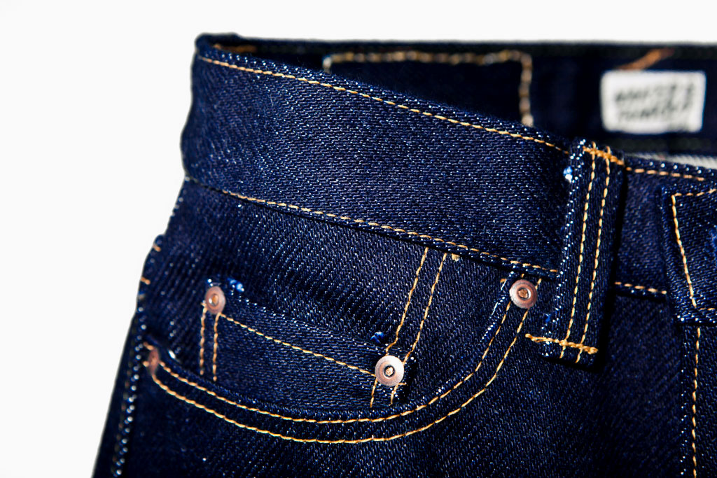 "Naked & Famous ""Weird Guy"" 32oz Heaviest Selvedge Denim"