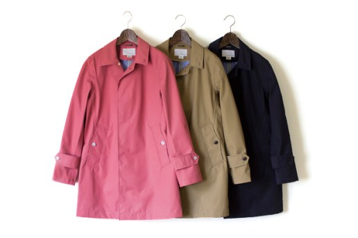 nanamica 2012 GORE-TEX Soutien Collar Coat Collection