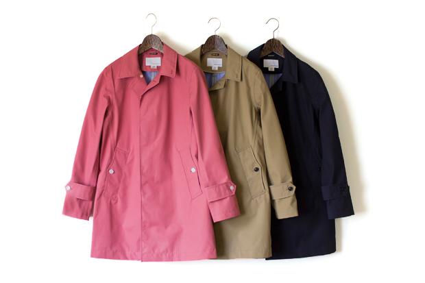 nanamica 2012 GORE-TEX Soutien Collar Coat Collection