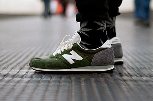 "New Balance Made in England U420UO ""Forest Green/Grey"""