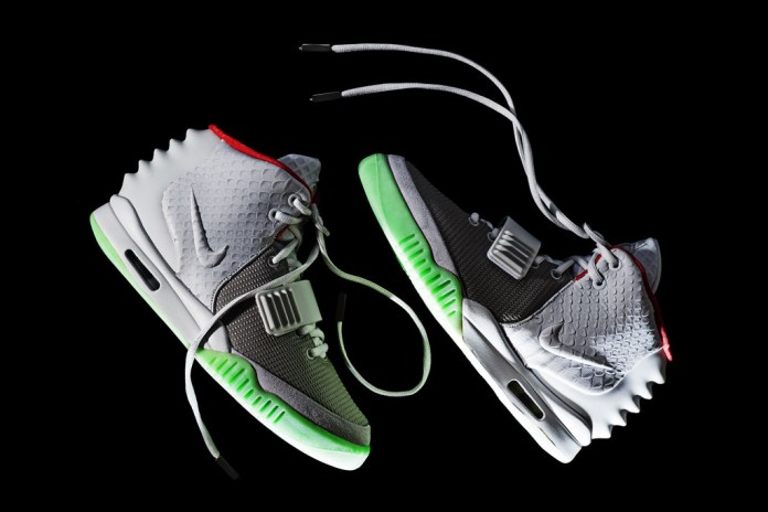 Nike Air Yeezy 2 Wolf Grey/Pure Platinum