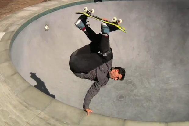 "Nike Skateboarding ""Lance Mountain's Pool Service"" Video"