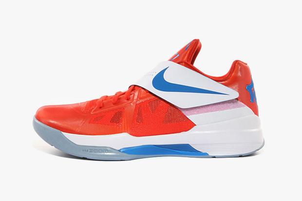 Nike Zoom KD IV Team Orange/Photo Blue