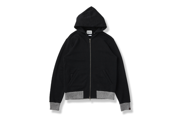 OriginalFake x Loopwheeler Zip Up Hoody