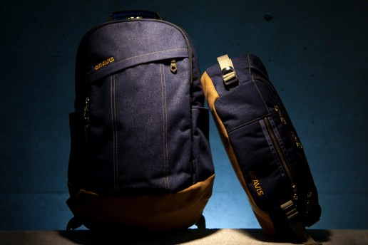 Oshman's x Kinetics x Gravis 12oz Denim Bag Collection