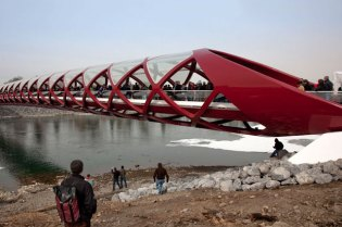 Peace Bridge by Santiago Calatrava