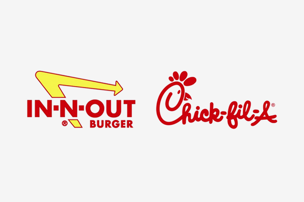 polls in n out burger vs chick fil a