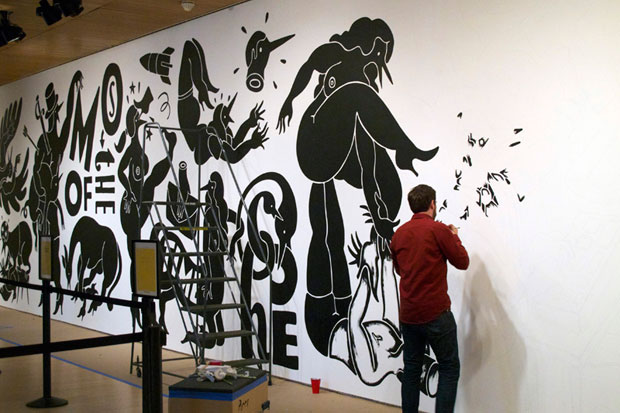 "Parra ""WEIRDED OUT"" Mural Installation @ SFMoMA Preview"