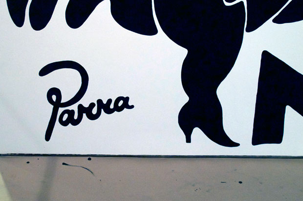 preview of parra weirded out mural installation sfmoma