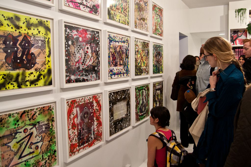 """Rammellzee """"The Equation"""" Exhibition @ Suzanne Geiss Company Recap"""