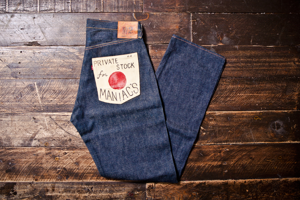 retrospect evisu hand painted denim