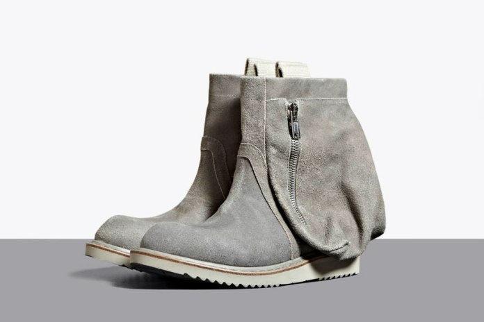 Rick Owens 2012 Spring/Summer Desert Engineer Boots