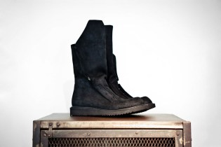 Rick Owens 2012 Spring/Summer Desert Hiking Boot