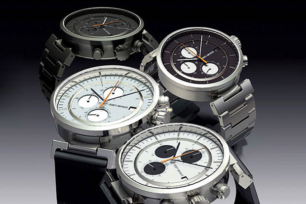 satoshi wada x issey miyake watch w chronograph