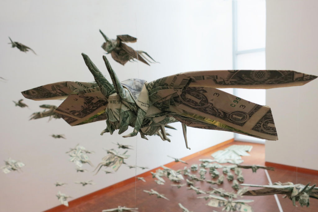 "Sipho Mabona ""The Plague"" for Folding Paper Exhibition"