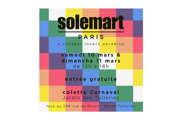 Solemart Paris 2012 @ colette Carnaval
