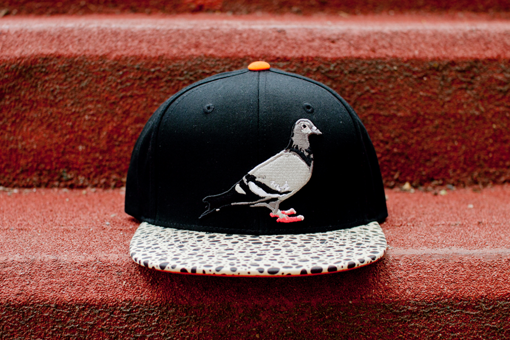 staple design staple pigeon safari starter snapback fitted cap
