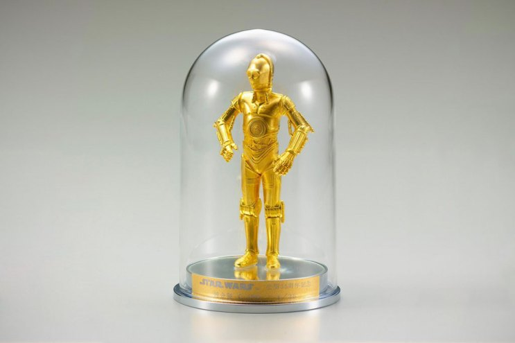 Star Wars 35 Year Anniversary Sterling Silver R2-D2 and Pure Gold C-3PO