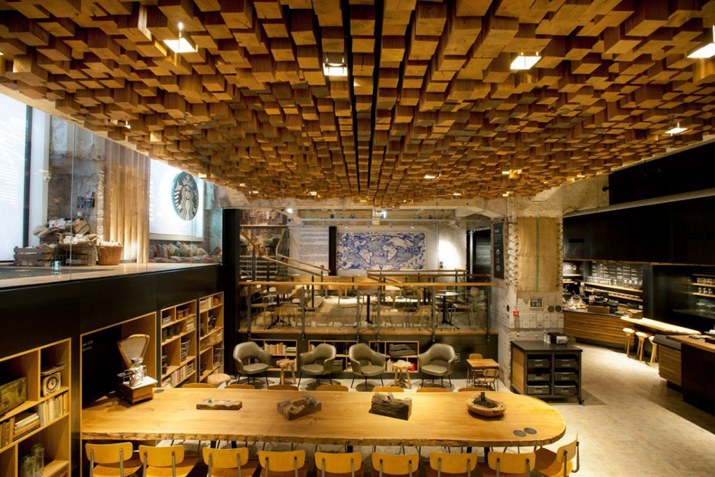 "Starbucks Amsterdam ""The Bank"" Concept Store"