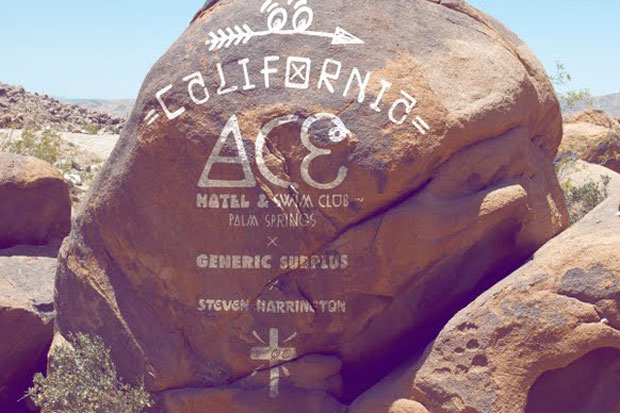 steven harrington x ace hotel palm springs x generic surplus 2012 capsule collection