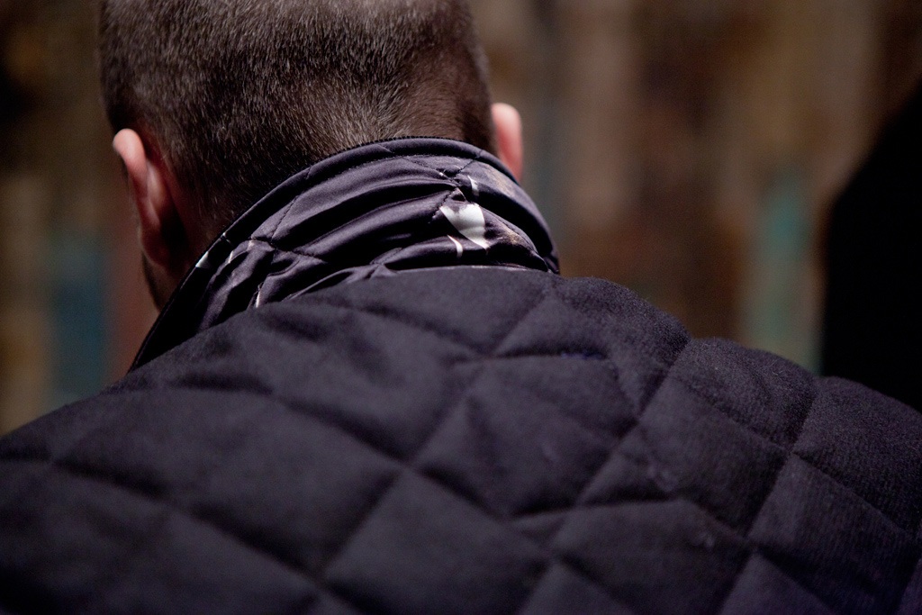 Streetsnaps: Quilted Vest