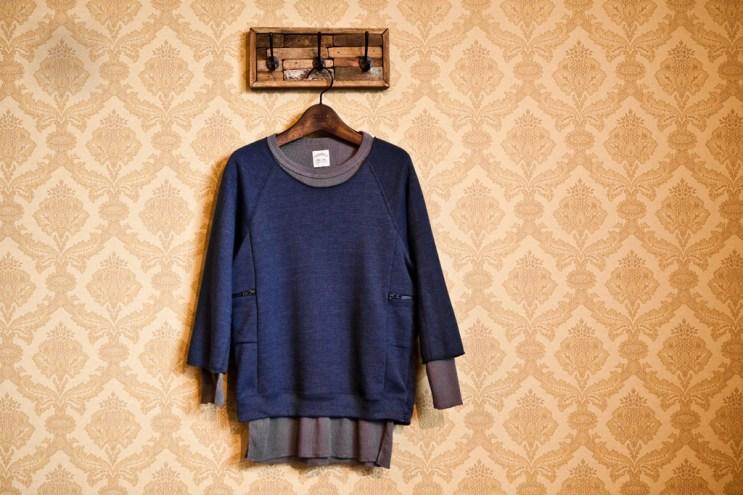 Sunsea 2012 Spring/Summer Broken Double Layer Sweater