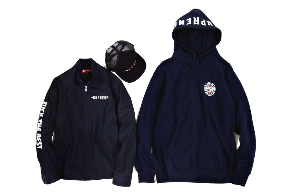 supreme x independent truck company 2012 spring capsule collection