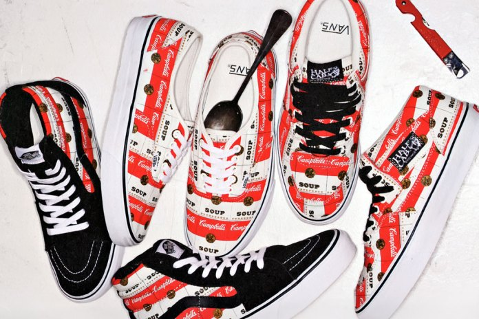 Supreme x Vans Campbell's Soup Collection