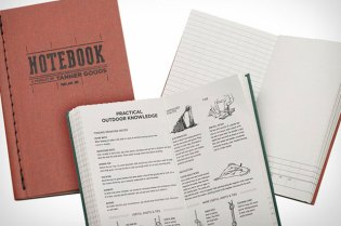 Tanner Goods Clay Notebook