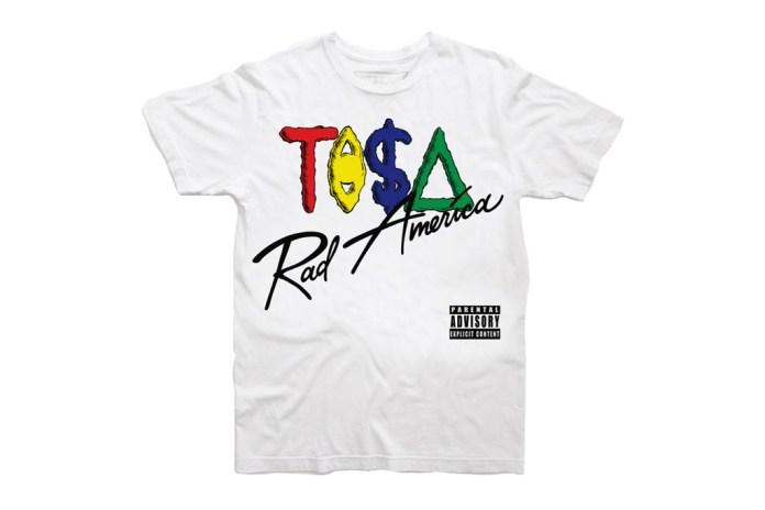 "Taz Arnold ""rAd americA"" T-Shirt"