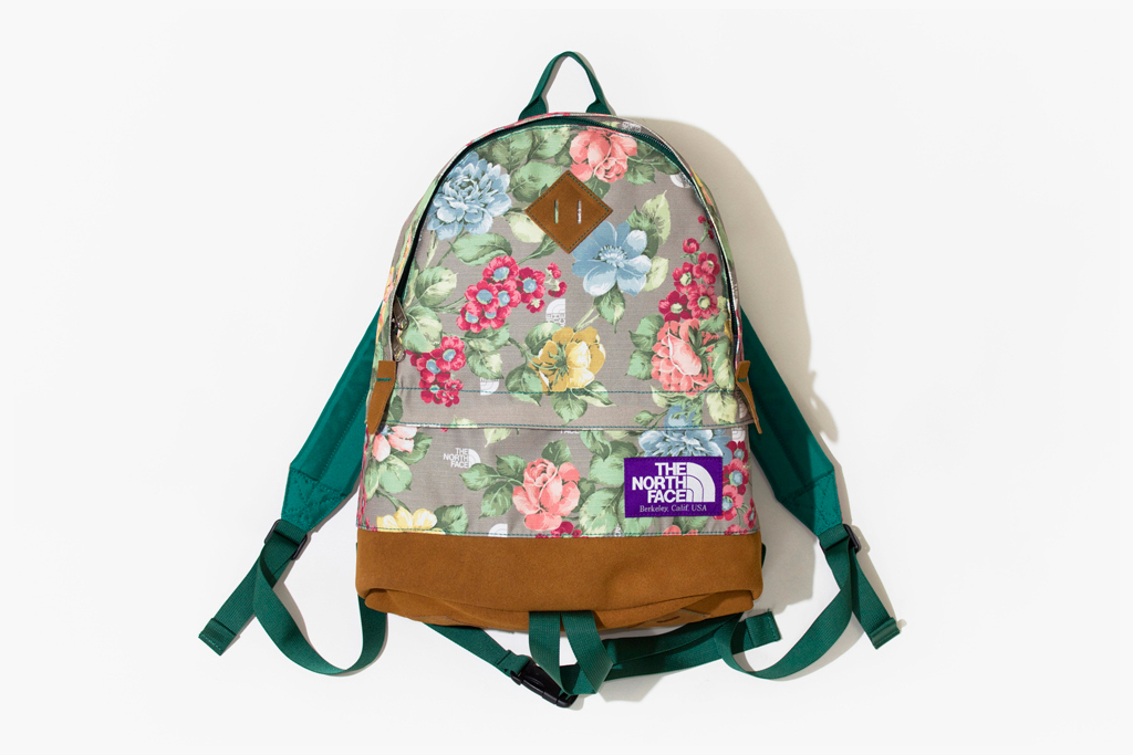 THE NORTH FACE PURPLE LABEL Floral Bag Collection