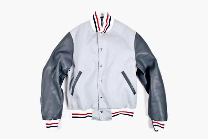 Thom Browne Summer Letterman Jacket