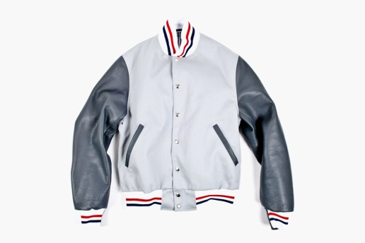 Thom Browne Summer Letterman Jacket