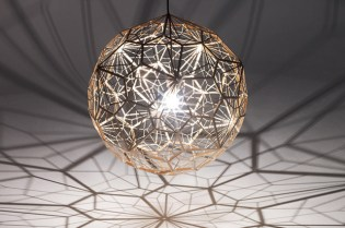Tom Dixon Etch Web Light Display