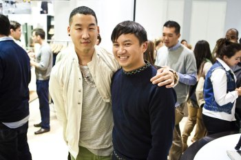 Tommy Ton x Club Monaco Launch Recap