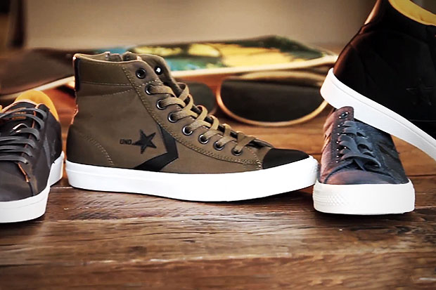 """Undefeated x Converse 2012 """"BORN NOT MADE"""" Collection Video"""