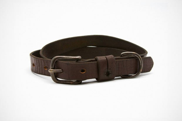 UNIS Vintage Leather Strapping Belt
