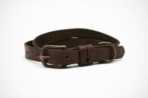 UNIS Vintage Leather Strapping Belt