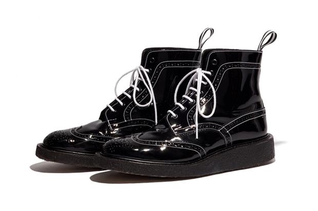 Vanquish x Tricker's Wing Tip Boots
