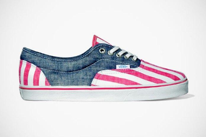 "Vans California Lo Pro 2012 Spring/Summer ""Washed Stripe"""