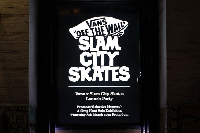 Vans x Slam City Skates Store
