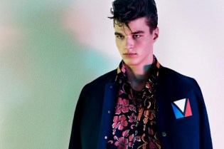"Vogue Hommes Japan 2012 Spring/Summer ""Generation to Generation"" Editorial"