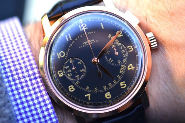 Vulcain 50s Presidents Chronograph Heritage Watch