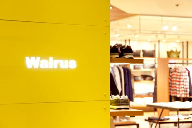Walrus Store Opening Shinjuku