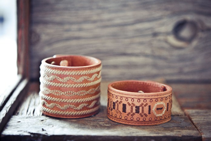 White Mountaineering 2012 Spring/Summer Embroidered Bracelets