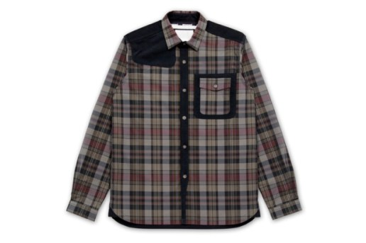 White Mountaineering for RESTIR Tartan Shirt