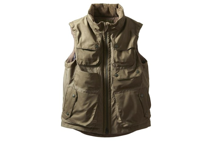 White Mountaineering Militally WINDSTOPPER Luggage Vest