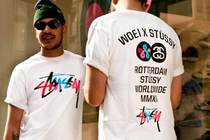 Woei x Stussy Fifth Anniversary T-Shirt