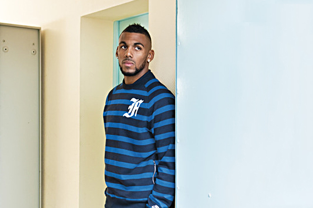 Yann M'Vila: Nike Sportswear 2012 French Football Federation Collection