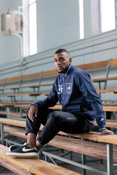 Yann M'Vila: Nike Sportswear 2012 French Football Federation Collection